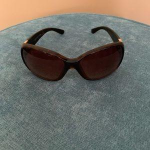 Jones New York Brown Leopard Sunglasses